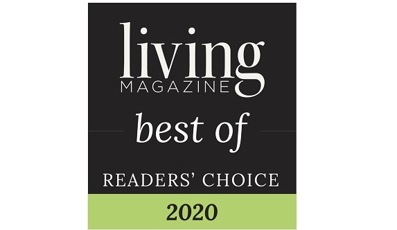 Living Magazine Best of Readers Choice 2020 award